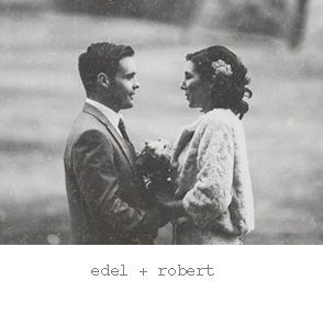 Real wedding : Edel & Robert