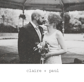 Real wedding : Claire & Paul