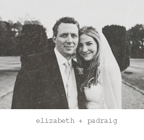 Real wedding : Elizabeth & Padraig