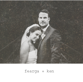 Real wedding : Fearga + ken