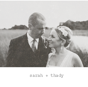Real wedding : Sara & Thady